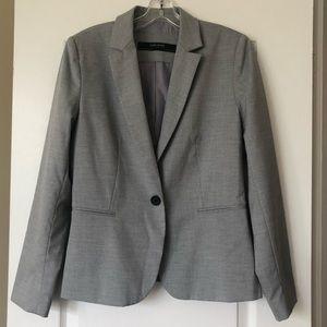 Zara Women One Button Blazer